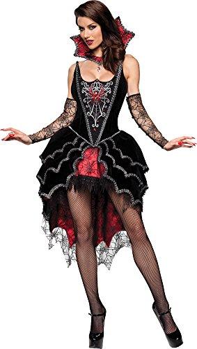 Webbed Mistress Sexy Costumes (Webbed Mistress Costume - Small - Dress Size 2-6)