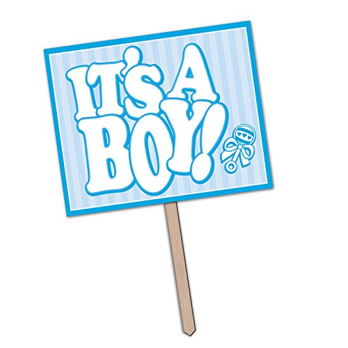 It's A Boy Yard Sign Party Accessory (1 count)