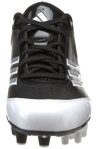 Pictures of adidas Men's Scorch X SuperFly Low Black/White/Metallic Silver 5