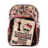 Monster High Medium Backpack - Monster High School Bag