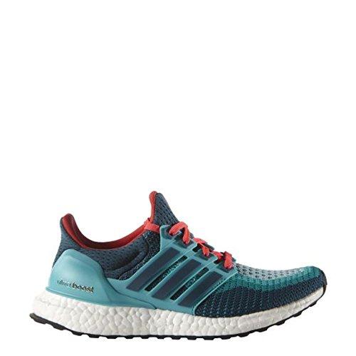 adidas Ultra Boost J, Zapatillas de Running Unisex Bebé Verde / Azul / Rojo (Vertra / Minera / Rojimp)