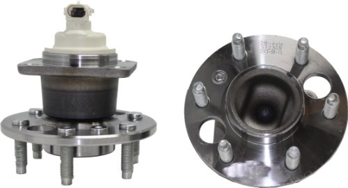 (Brand New (Both) Rear Wheel Hub and Bearing Assembly for Montana Relay Uplander FWD 6 Lug W/ABS (Pair) - 4 Bolt Flange)
