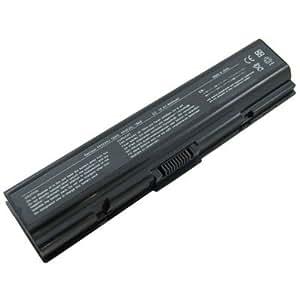 Laptop Battery for Toshiba Satellite A305D-S6848, 9 cells 6600mAh Black