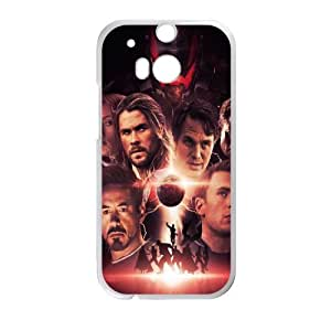 The Avengers SANDY0007377 Phone Back Case Customized Art Print Design Hard Shell Protection HTC One M8