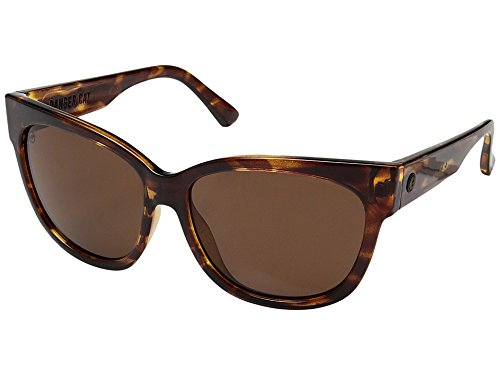 Electric Eyewear Women's Danger Cat Polarized Gloss Tortoise/Ohm Bronze - Warranty Electric Sunglasses