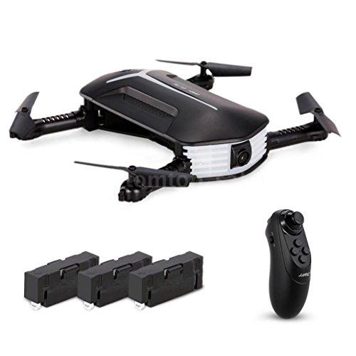 Price comparison product image Sympath JJR / C H37 BABY ELFIE RC Quadcopter Headless Mode 4CH Drone Selfie Toys 3 Battery