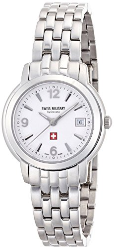 SWISS MILITARY by Grovana watch white 5581.1232 Ladies