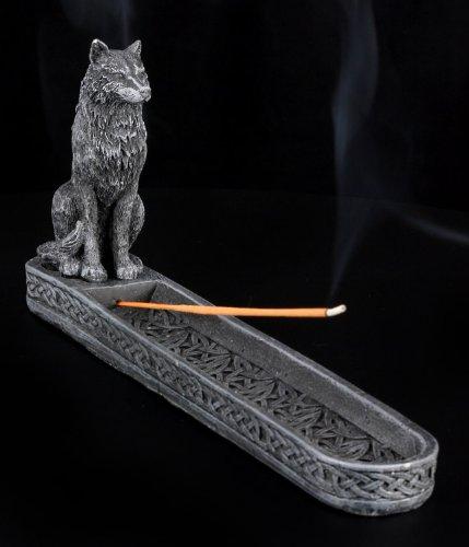 10 Inch Werewolf Gargoyle Resin Incense Burner Statue Figurine