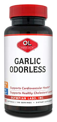 - Olympian Labs Odorless Garlic Supplement, .4 Pound