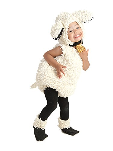 Princess Paradise Baby's Lovely Lamb Deluxe Costume, As Shown, 3T-4T
