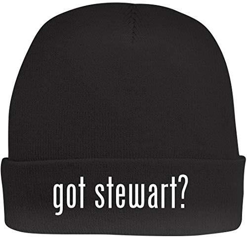 (Shirt Me Up got Stewart? - A Nice Beanie Cap, Black, OSFA)
