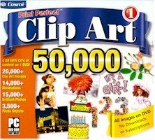 Cosmi Print Perfect Clip Art 50,000