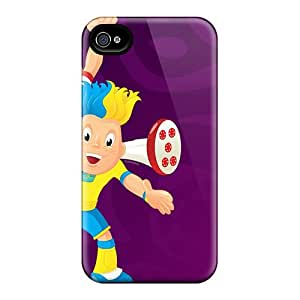 JonathanMaedel Iphone 6plus Protector Hard Cell-phone Case Support Personal Customs Realistic Euro Football Cup 2012 Pattern [ZYT12491xeQw]