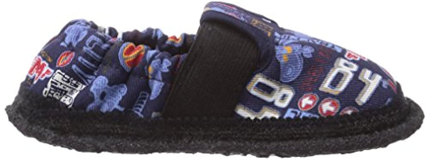 Beck Traffic, Boys' Low-Top Slippers, Blue (05), 4.5 UK