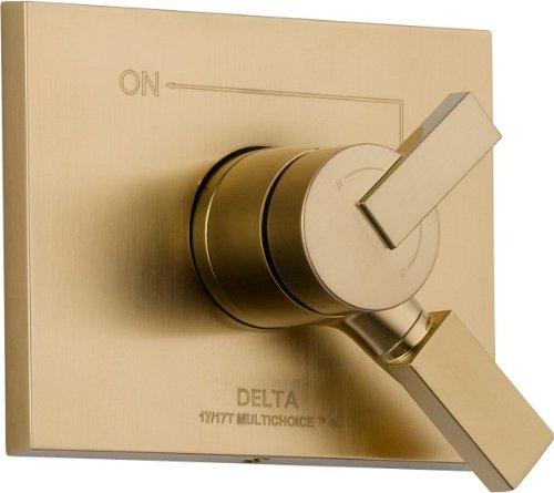 Delta Faucet T17053-CZ Vero Monitor 17 Series Valve Trim Only, Champagne Bronze