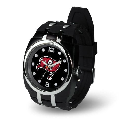 NFL Tampa Bay Buccaneers Crusher Watch, (Buccaneers Sport Watch)