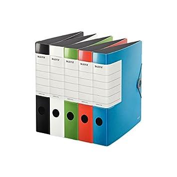 Leitz 11130099 Archivador de tapa dura, colores surtidos: Amazon.es: Oficina y papelería