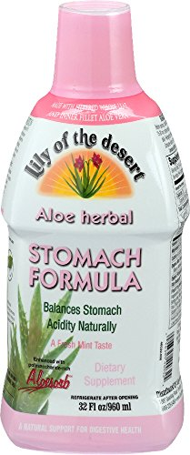 Lily of The Desert Aloe Herbal Stomach Formula 32 Fluid Ounce (Lily Of The Desert Aloe Vera Gel Ingredients)