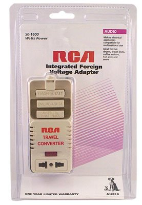 Price comparison product image RCA Integrated Foreign Voltage Adapter