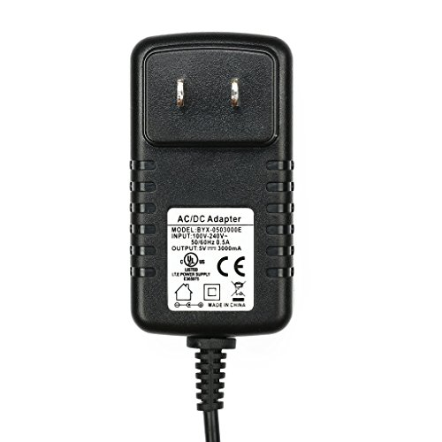 atolla US standard adaptor External Power Supply 15W ( 5V/3A) AC / DC Adapter for USB Hub, 3.5 x 1.35 mm plug center positive by Atolla (Image #2)'