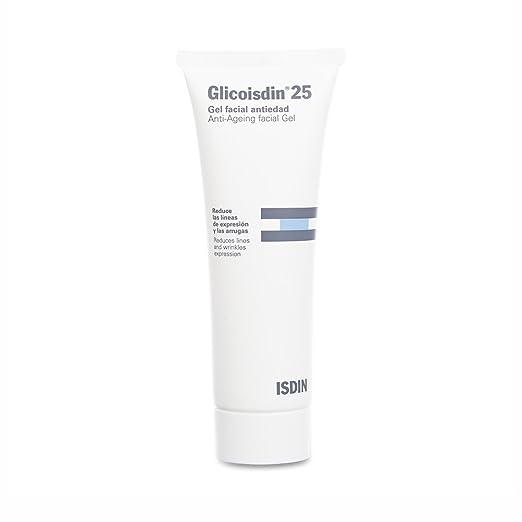 ISDIN glicólico 25 Gel facial antiedad con ácido glicólico - 50 ml.: Amazon.es