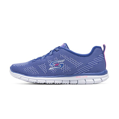 Skechers Women's Glider-Forever Young Low-Top Sneakers Periwinkle TSJEloKxa