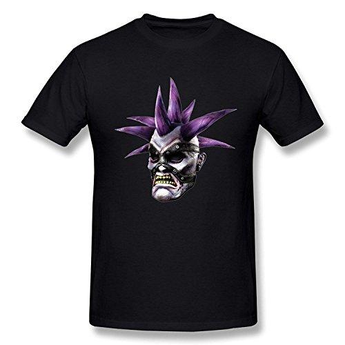 WunoD Men's Happy Halloween T-shirt Size L ()