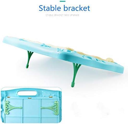 子どもの描画ボード 子供のための子供のおもちゃのギフト製図板落書き再利用可能なボード消去可能な学習玩具 磁気子供用ライティングボード (色 : 青, Size : 40.3x31.2cm)