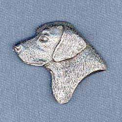 Black Lab Pin (Jewelry Labrador Pin)