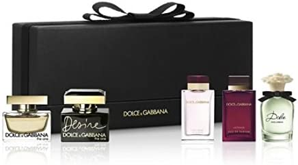Dolce & Gabbana miniaturas Eau de Parfum Gift Set: Amazon.es: Belleza
