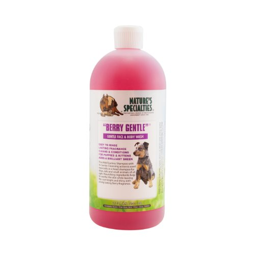 (Nature's Specialties Berry Gentle Pet Shampoo, 32-Ounce )