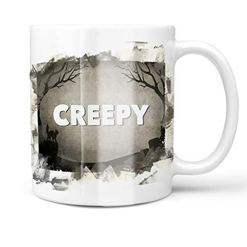 Neonblond 11oz Coffee Mug Creepy Halloween Graveyard with