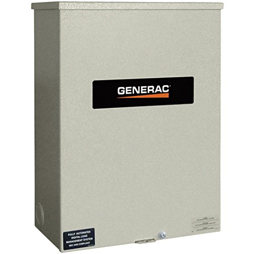 Generac RTSN800G3 Guardian RTS 800-Amp Automatic Generator Transfer Switch, 120/208V, 3-Phase