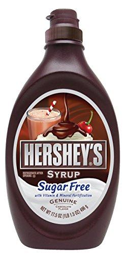 Hershey's Chocolate Sugar Free Syrup (17.5 oz bottle)