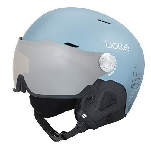 Bollé Might Visor Casques de Ski Blue Adulte Unisexe 55-59 cm