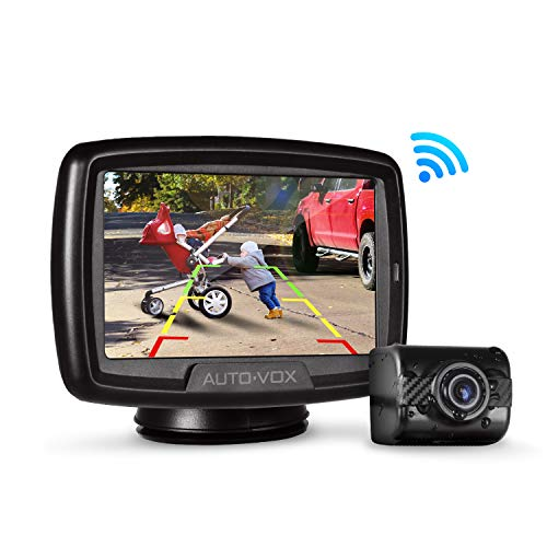 W2 NO Interference Digital Wireless Backup Camera System Kit with Built-in Transmitter