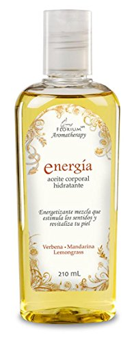 Energía - Aceite Corporal Hidratante Para Masaje 210 ml Auténtica Aromaterapia Florium