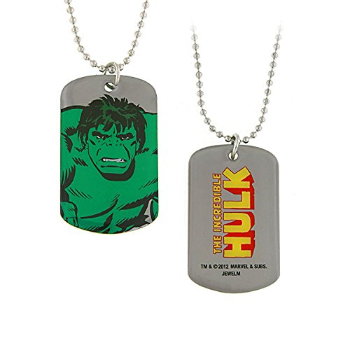 Hulk Smash Double Sided Comic Dog Tag Officially Licensed by MARVEL + Comic Con Exclusive