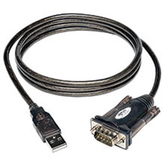 Tripp Lite 5ft USB to Serial Adapter Cable (USB-A to DB9 ()