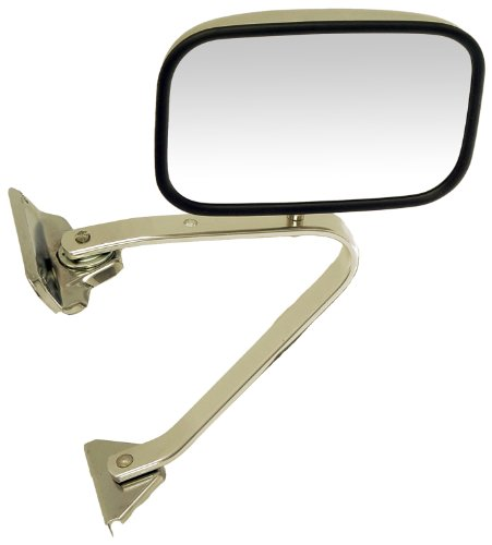 84 Ford Ranger Mirror (Dorman 955-180 Ford Manual Chrome Replacement Mirror (Fits Driver/Passenger)