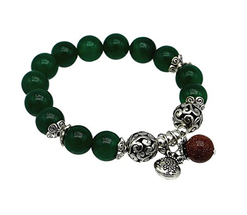 Feng Shui Good Luck - Feng Shui Agate Bracelet with Money Bag for good luck ( Betterdecor Logo Bag)