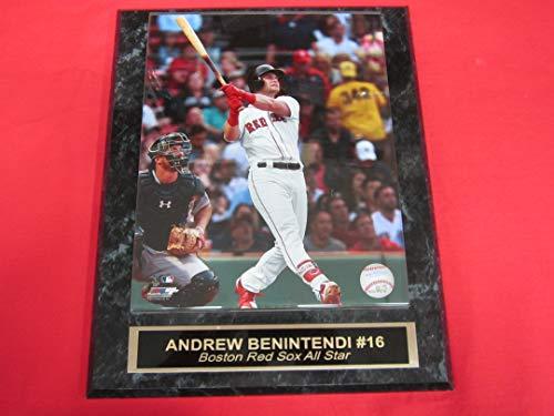 (Red Sox Andrew Benintendi Collector Plaque #1 w/8x10 Photo!)