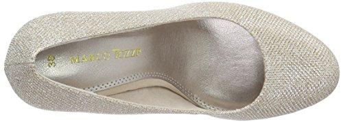 Marco Tozzi22403 - Zapatos de Tacón Mujer Beige - Beige (DUNE METALLIC 412)