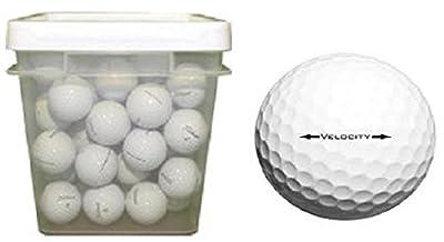 Titleist 50 Ball Bucket Velocity Used Golf Balls