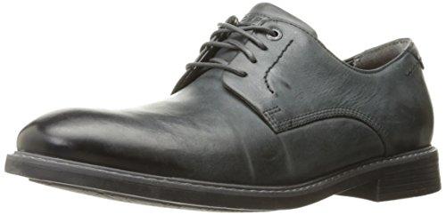 Rockport Mens Classic Break Plain Toe Oxford Dark Shadow Leather