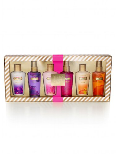 Victoria's Secret Garden Variety Gift Boxed Set with Pure Seduction, Love Spell, Amber Romance