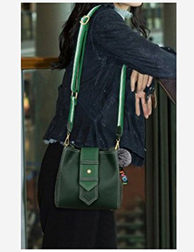 ZCM Bags Wave Beach Casual Version Super Optional Messenger the of Women's Wild Bag Color Fire Multifunction green Dark Casual 3 Travel rqwZxtOr