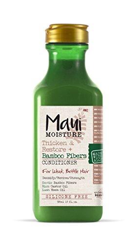 Maui Moisture Thicken & Restore + Bamboo Fiber Conditioner, 13 - Maui Bamboo
