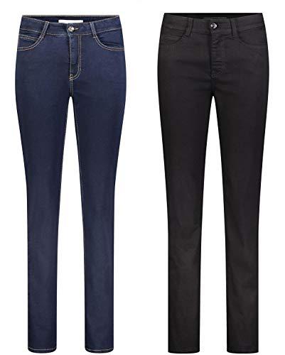 30l Noir X 40w Jeans Femme Mac Uni OgqwTx8Y4