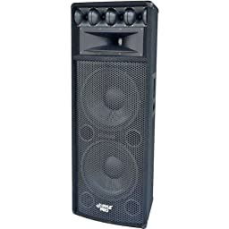 PylePro 1600W Heavy Duty 7 Way Super Horn Midrange Tweeter Pa Loud-speaker Cabinet